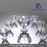 7PCS Necklace Engraved Ice Cream Bowl Set Glassware