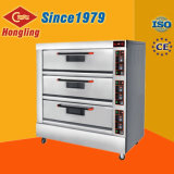 Professional Electric Oven 3 Layer 9 Trays Industrial Bread Oven Price