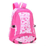 Pink Backpack with Shoe Compartment for High School Students