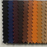 Embossed Grains Imitation PU Leather for Shoe (HSTC046)