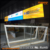 Customized Aluminum Textile LED Exhibition Display