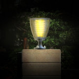 New Design Solar Post Light LED Garden Light Outdoor Gate Solar Light Warm and Pure White