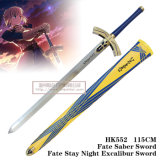 Fate Saber Sword Fate Stay Night Excalibur Sword