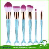 Mermaid Tail Makeup Brushes Big Fish Tail Foundation Powder Eyeshadow Make-up Brushes Contour Blending