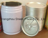 Three 3 Piece Metal Tin Can Bottle