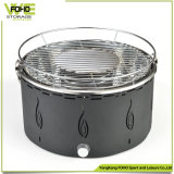 Balcony BBQ Grill Indoor Barrel Round Smokeless Tabletop Korean BBQ Grill
