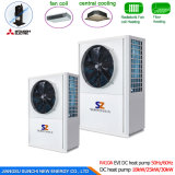 Cop4.23 Dhw 12kw 19kw 35kw 70kw Heat Pump Water Heater