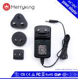 36W Interchangeable Power Adapter 12V 1A 2A 3A