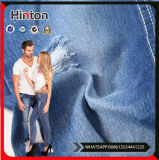 Woven Cotton Denim Fabric Indigo Blue