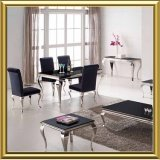 Wholesale Stainless Steel restaurant Dining Tables and Chairs Sets