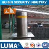 New Stainless Steel Automatic Hydraulic Rising Bollards with Flashing LED Light American