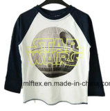 100 % Polyester Round Neck T-Shirt for Boys