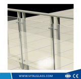12mm Clear Float/Flat Tempered Glass/Office Door Glass with Csi