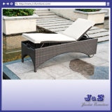 Outdoor Patio Rattan Chaise Lounge, Garden Wicker Furniture (J4275)