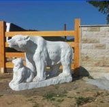 Animal (Bear) Stone Carving & Granite Marble Sculpture