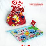 Plush Red Storage Bag Toy