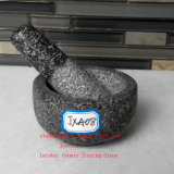 Solid Granite Pestle & Mortar Spice Grinder