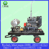 Ship Hull Surface Cleaner Diesel Engine High Pressure Water Sandblasting Machine