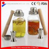 Clear Glass 30oz Mason Jar