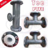 PTFE Pipe (Straight tee, Reducing tee)