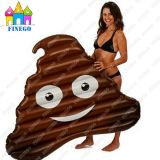 Hot Sell Water Toys PVC Floating Inflatable Air Shit Poo Floats From Factory