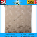 3-8mm Bronze Weaver Patterned Figure Glass with AS/NZS 2208 and Ce