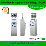 Touch Screen Multifunction Interactive Information Access Lobby Dual Screen Kiosk