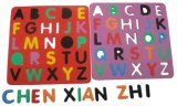 Colorful and Intelligence Alphabet of EVA Puzzles