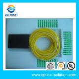 1X8 Fiber Optical PLC Splitter Sc 2.0mm ABS Box