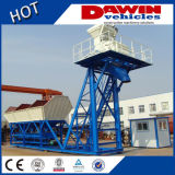25m3/H - 75m3/H Hauling Concrete Batching Mixing Plant with Truck Chassis