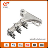 Nll Aluminum Alloy Strain Clamp Overhead Pole Line Hardware Clamp