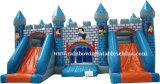 China Wholesale Bule Bouncer Jumple Castle Inflatable Slide
