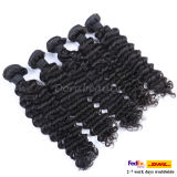 100% Russia Human Hair Double Weft Stitched Remy Hair Weft