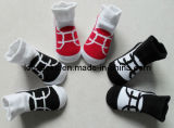 2016 Cotton Infant Baby Socks Like Shoe Design