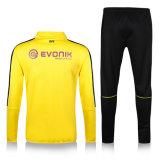 Customized Mens Long Sleeve Football Training Single Jersey Bodybuilding Tracksuit Polyester Team Sport Skinny Gym Uniform