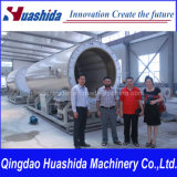 Plastic Extruder HDPE Solid Wall Pipe Extrusion Line (ID. 1200mm)
