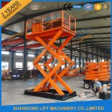 Scissor Type Electric Lifter Warehouse Lifter Machine with Ce