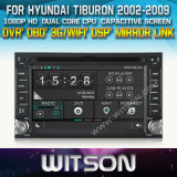 Witson Car DVD Player for Hyundai Tiburon (W2-D8900Y) Touch Screen Steering Wheel Control WiFi 3G RDS