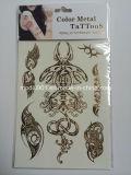 Gold Temporary Tattoos Waterproof Tattoo Metallic Tattoo Stickers