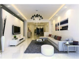 Super White Color Glossy Nano Polished Floor Ceramic Tile (Porcelain)
