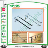 Pedboard Display Hooks Slat Wall MDF Display Hooks