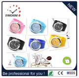 Silicone Watchband Fashion Wrist Watch /Slap Watch (DC-922)