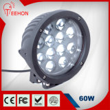 7 Inch 60W Round LED Work Light for Farm Vehicle