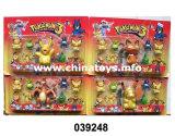 Most Popular Plastic Lovely Elf Toy Set Game Toys (039248)