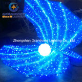 LED Acrylic Lighted Motif Shell for Christmas Holiday Decoration