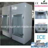 Single Glass Door Bagged Ice Storage Bin DC-300