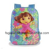 3D EVA Kids Trolley School Backpack Bag