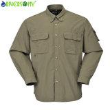 Men′s Quick Dry Outdoor Shirt-Long Sleeve