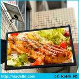Outdoor Solar Powered Advertisement Light Box Frame