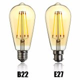 Vintage LED Light Bulb Edison Bulb E27 B22 St64 Dimmable